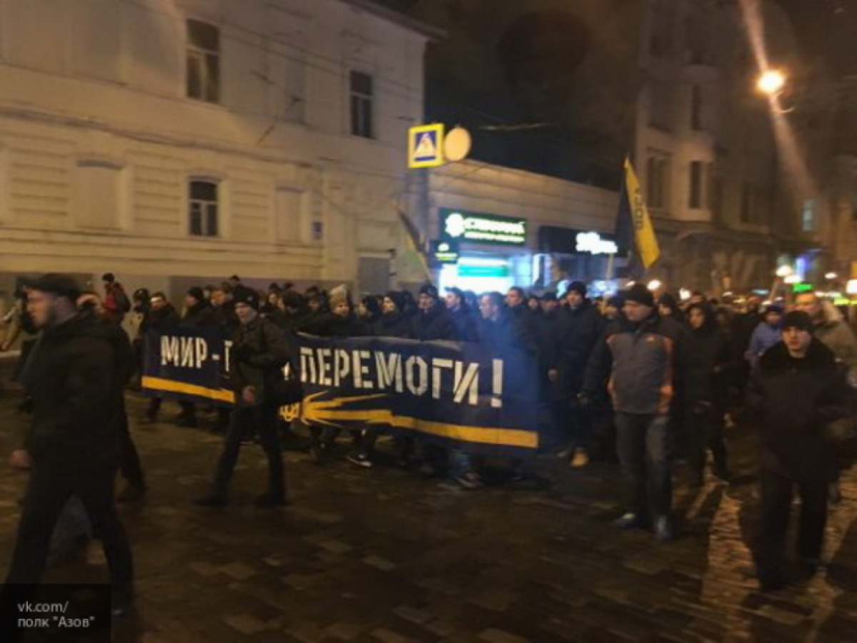 Марш «Азова» вХарькове: запорядком будут усиленно следить правоохранители
