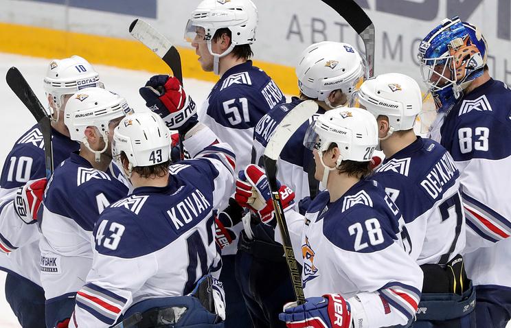 «Металлург» разгромил «Куньлунь» сосчётом 8:2 в1/8 финала Кубка Гагарина