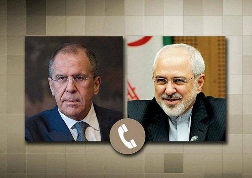 Руководителя МИД Российской Федерации иИрана сообщили обугрозе региональной безопасности изсоедененных штатов