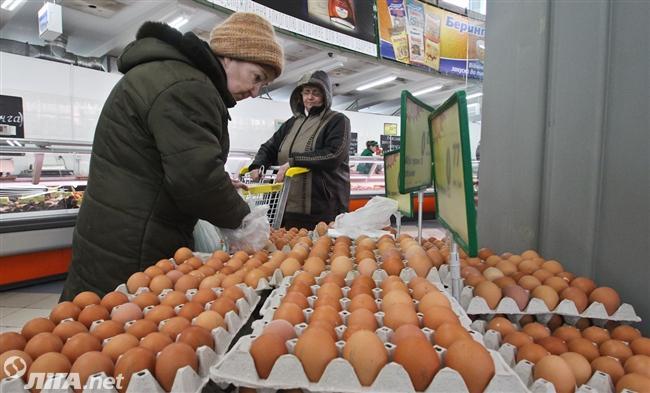 Перед Пасхой цены наяйца снизились на14%