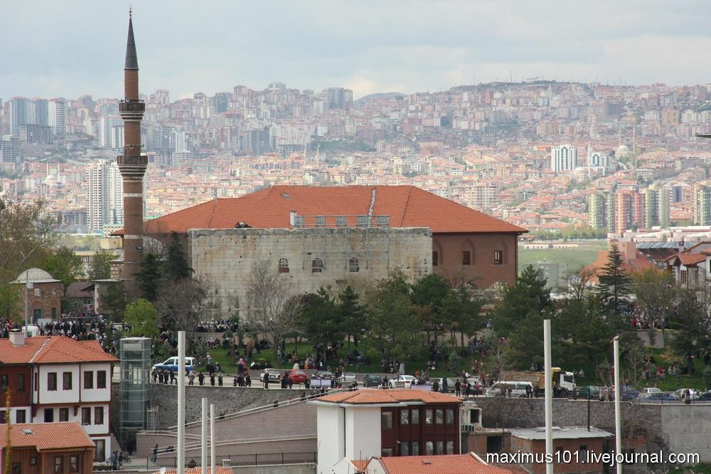 Акрополь римской Анкары -