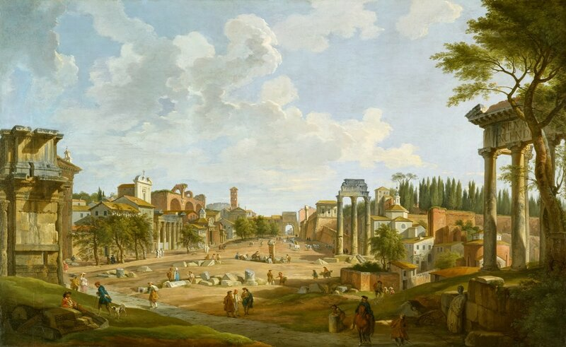 1 Giovanni_Paolo_Panini_-_View_of_the_Roman_Forum_-_Walters_372366.jpg
