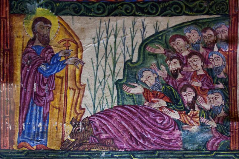 Григорий Просветитель и царь Трдат