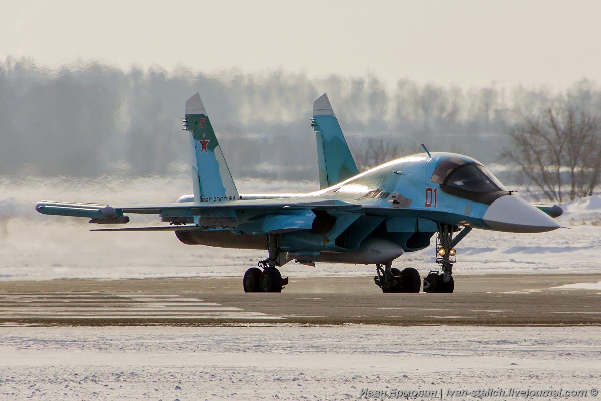Су-34 меняют дислокацию!