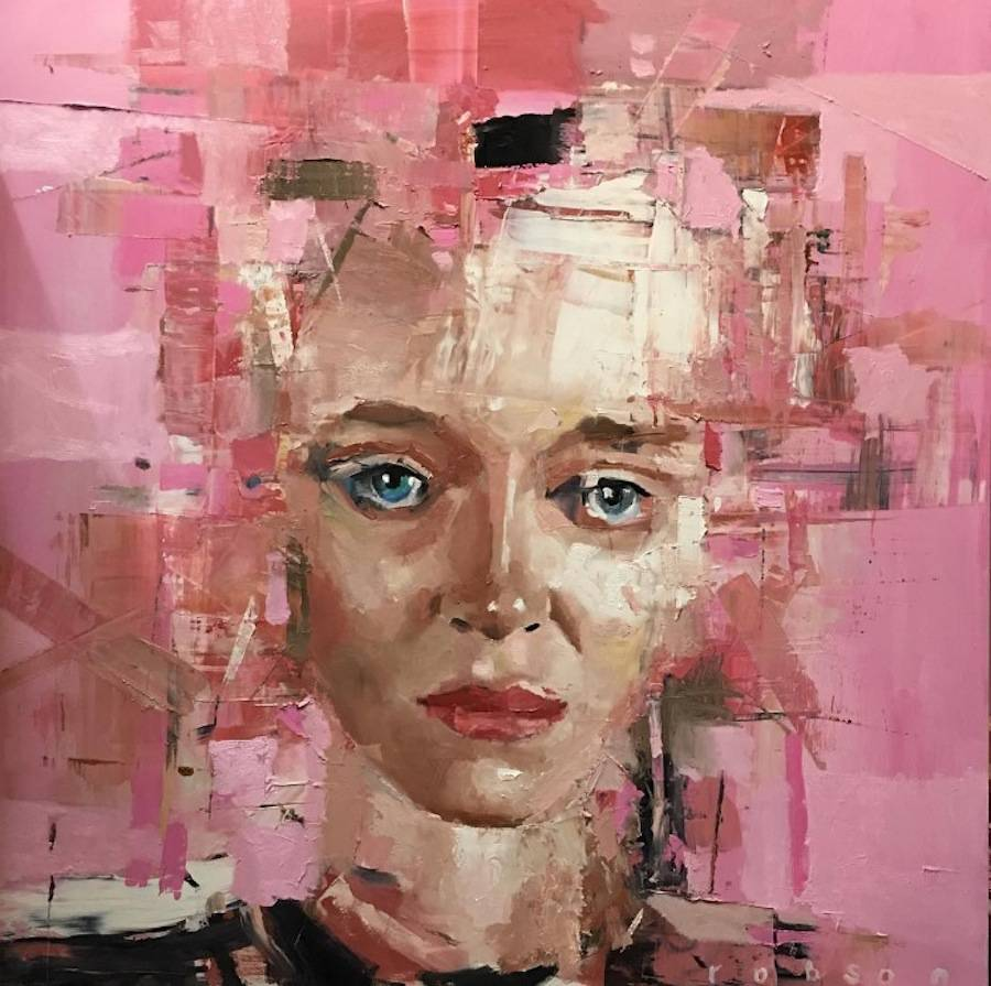 Abstract Paintings of Faces Portraits (14 pics)