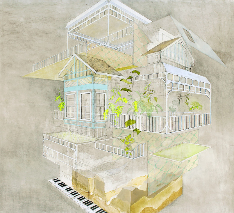 Conceptual Architectural Illustrations by Alyssa Dennis