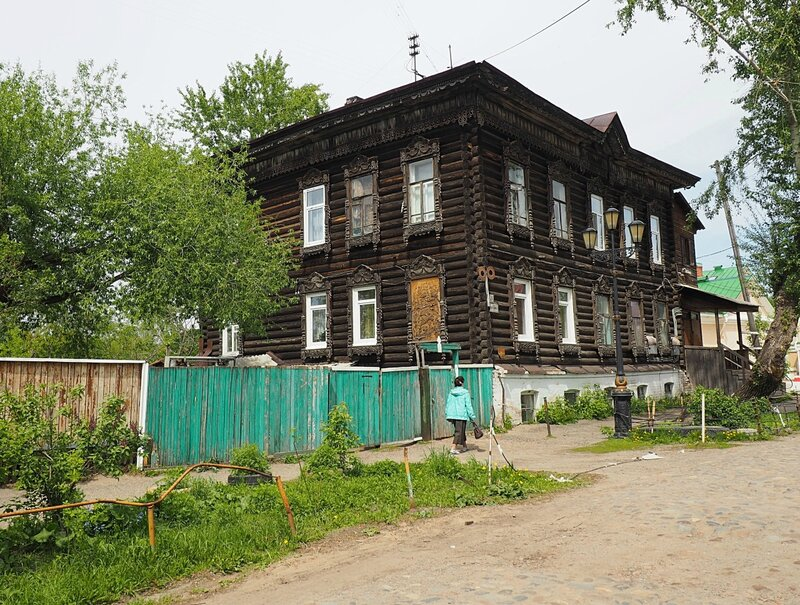 Томск, улица Бакунина (Tomsk, Bakunin Street)