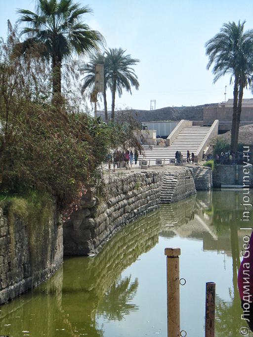 водоем в Карнаке