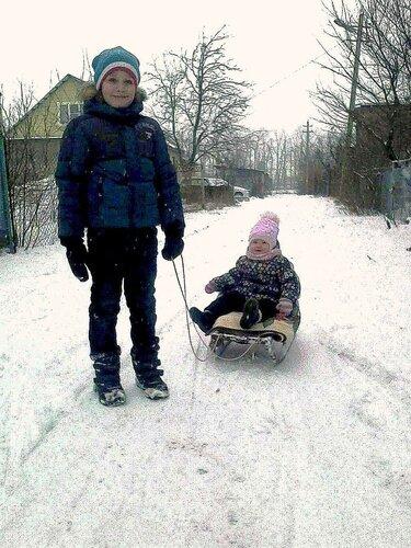 Зима и санки! День чудесный!.jpg