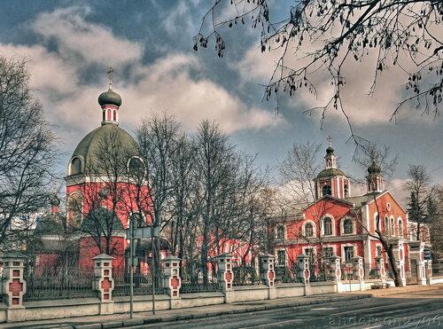 Знаменский храм в Переяславской слободе