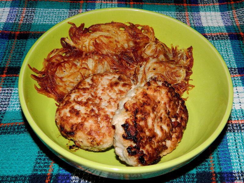 Как пожарить вкусную картошку вареную