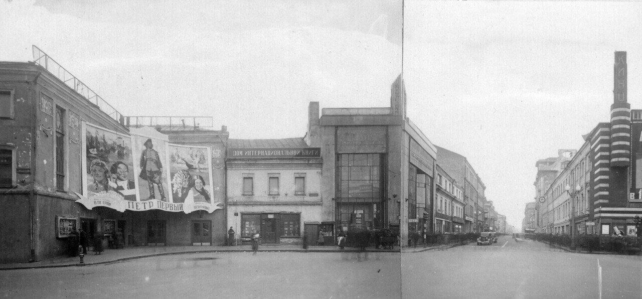 453247 Пушкинская площадь 1938 Мосгорнаследие. Фотоархив. Негатив IV-23-118а.jpg