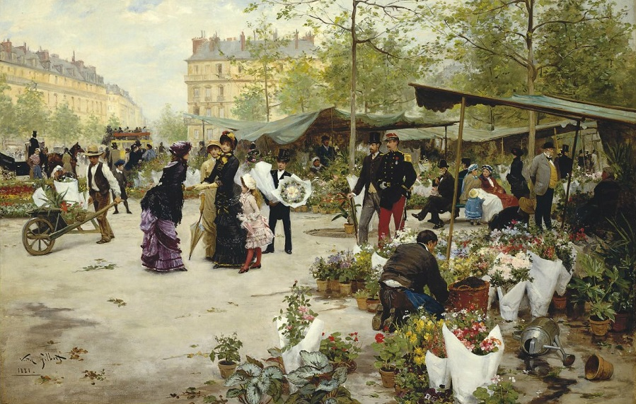 'The Lower Market, Paris'