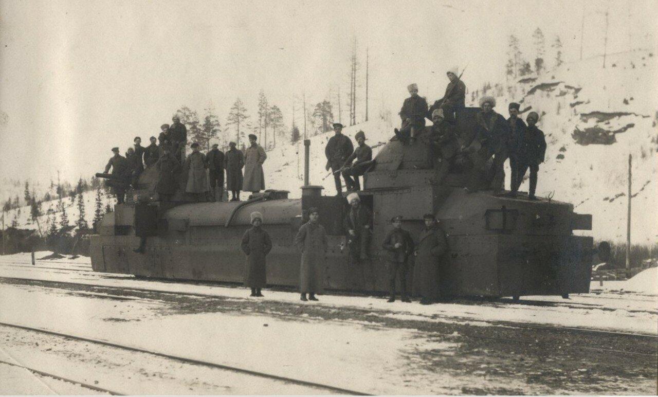 1919. Сибирь. Бронепоезд Орлик