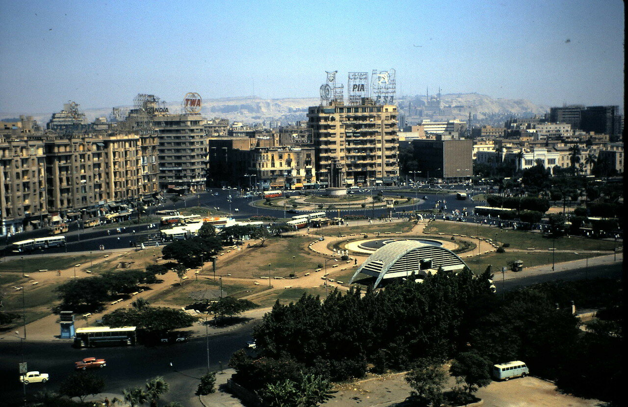 7 августа. Каир (Египет). Площадь Тахрир