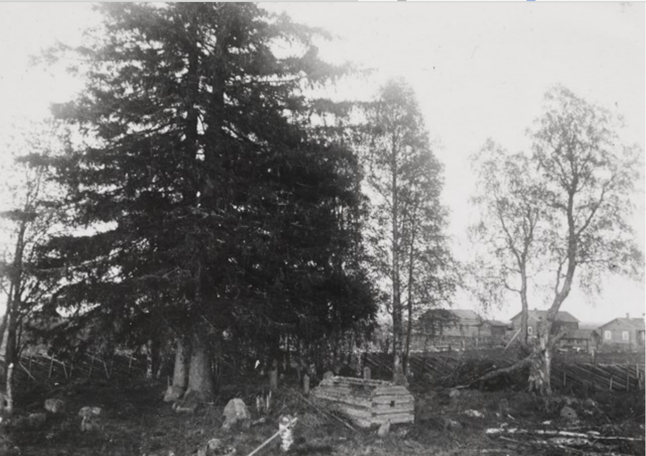 Суоярви. Старое кладбище