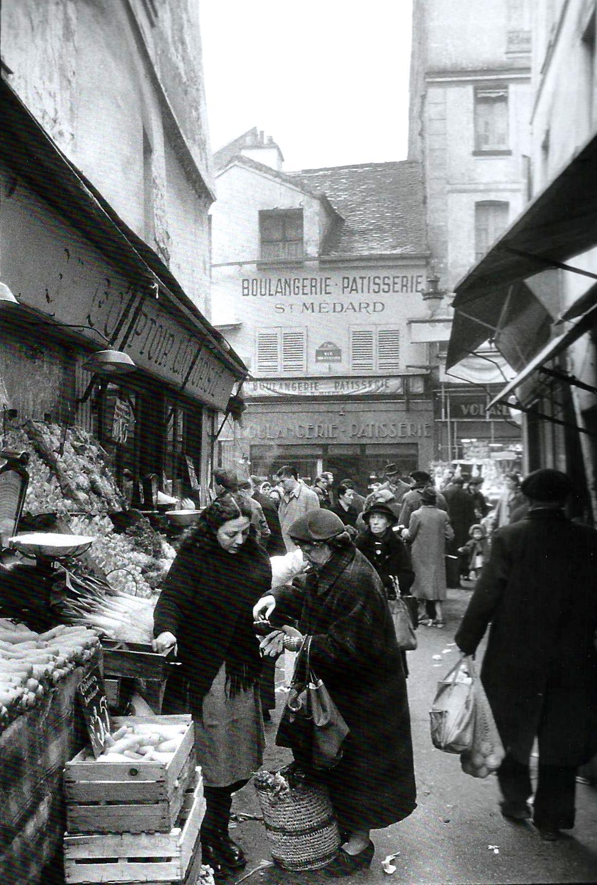 1955. Рынок в Париже