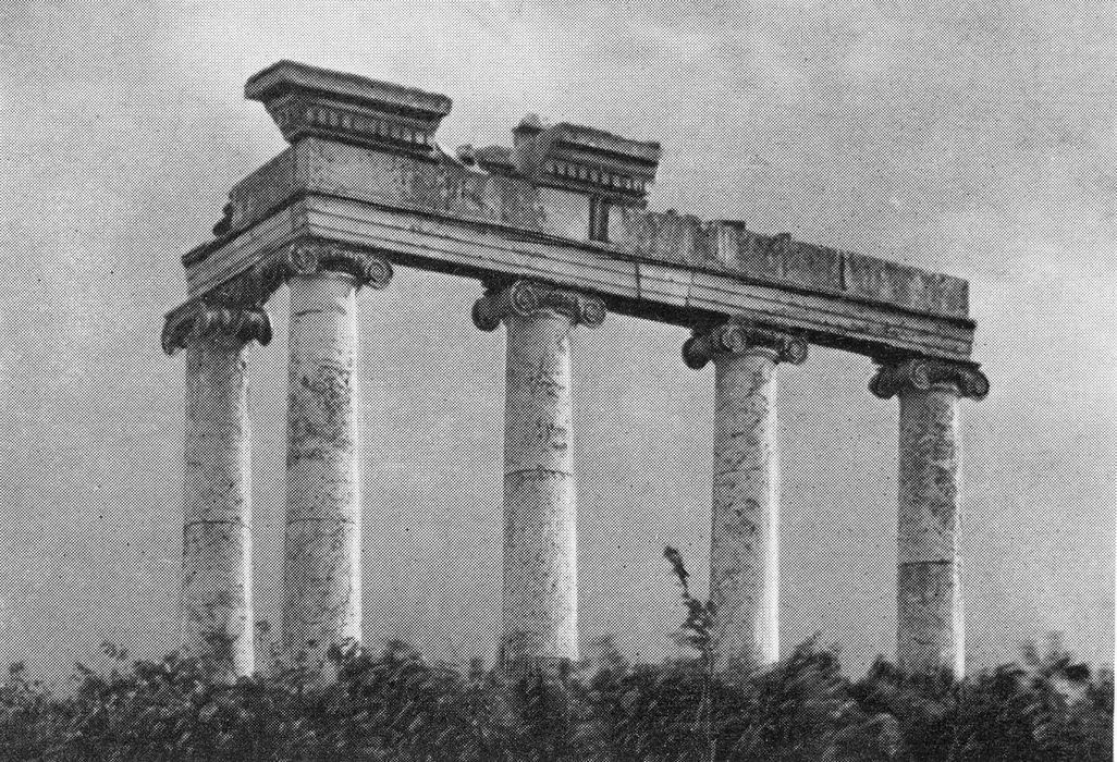 Руина в Луговом парке
