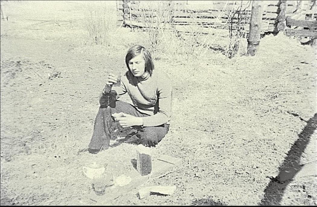 Деревня Владимирская. Слышкин Владимир