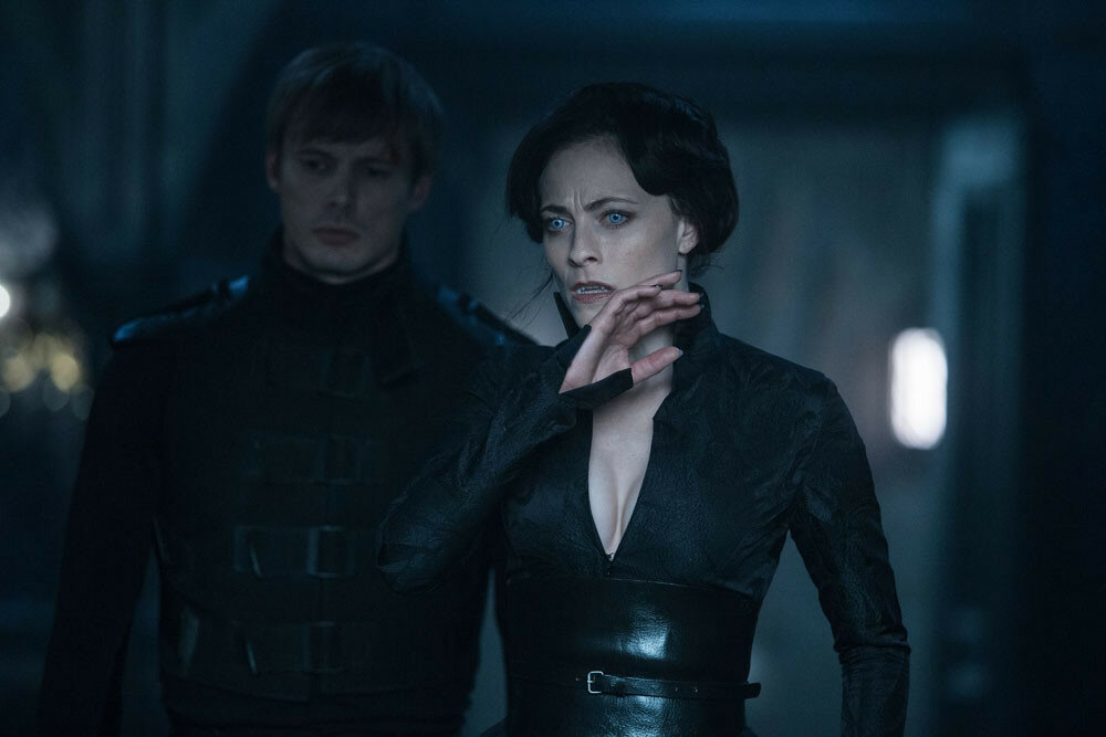Lara Pulver and Bradley James in Screen Gems' UNDERWORLD: BLOOD WARS.