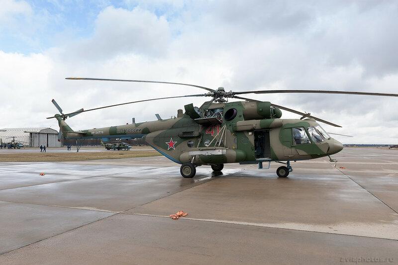 Миль Ми-8МТВ-5 (RF-24776 / 41 красный) ВКС России 206_D700576