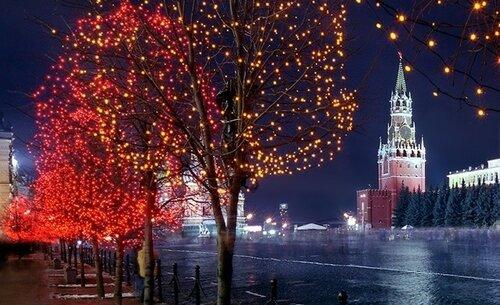 Бесплатные экскурсии по Москве в новогодние праздники для всех