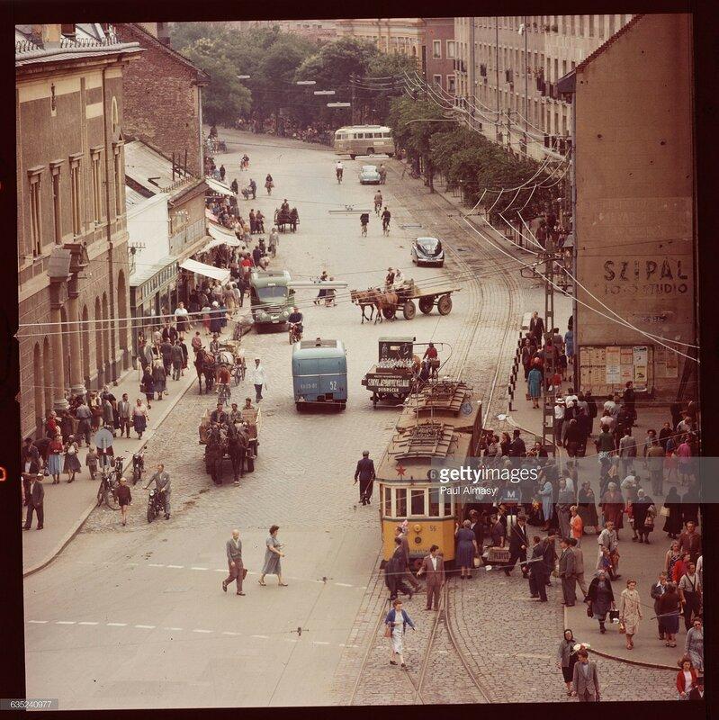 1950s Debrecen, Hungary.jpg
