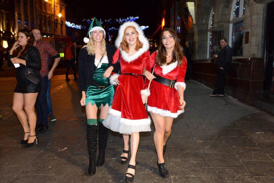 Рождественская вечеринки в Великобритании