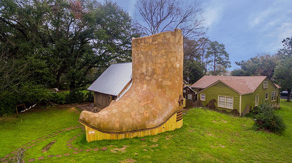 Дом-сапог в Техасе
