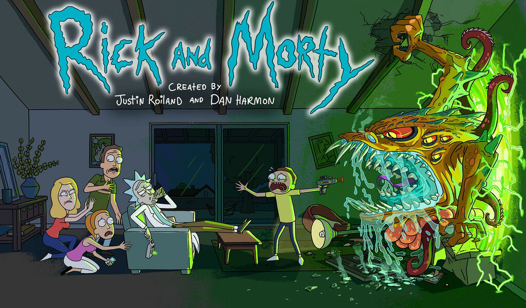 Знак Rick and Morty