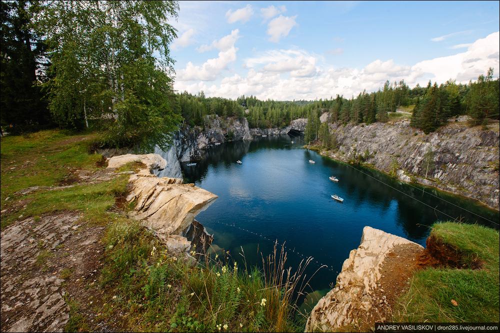 фото рускеала летом