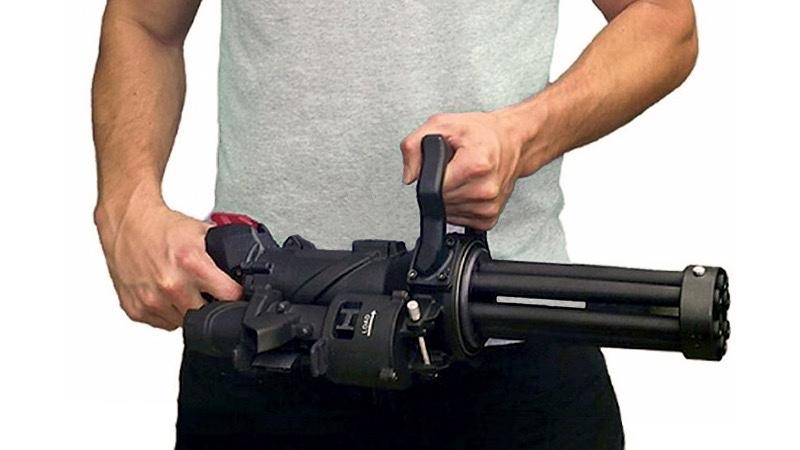 XM556 Microgun - самый маленький миниган в мире