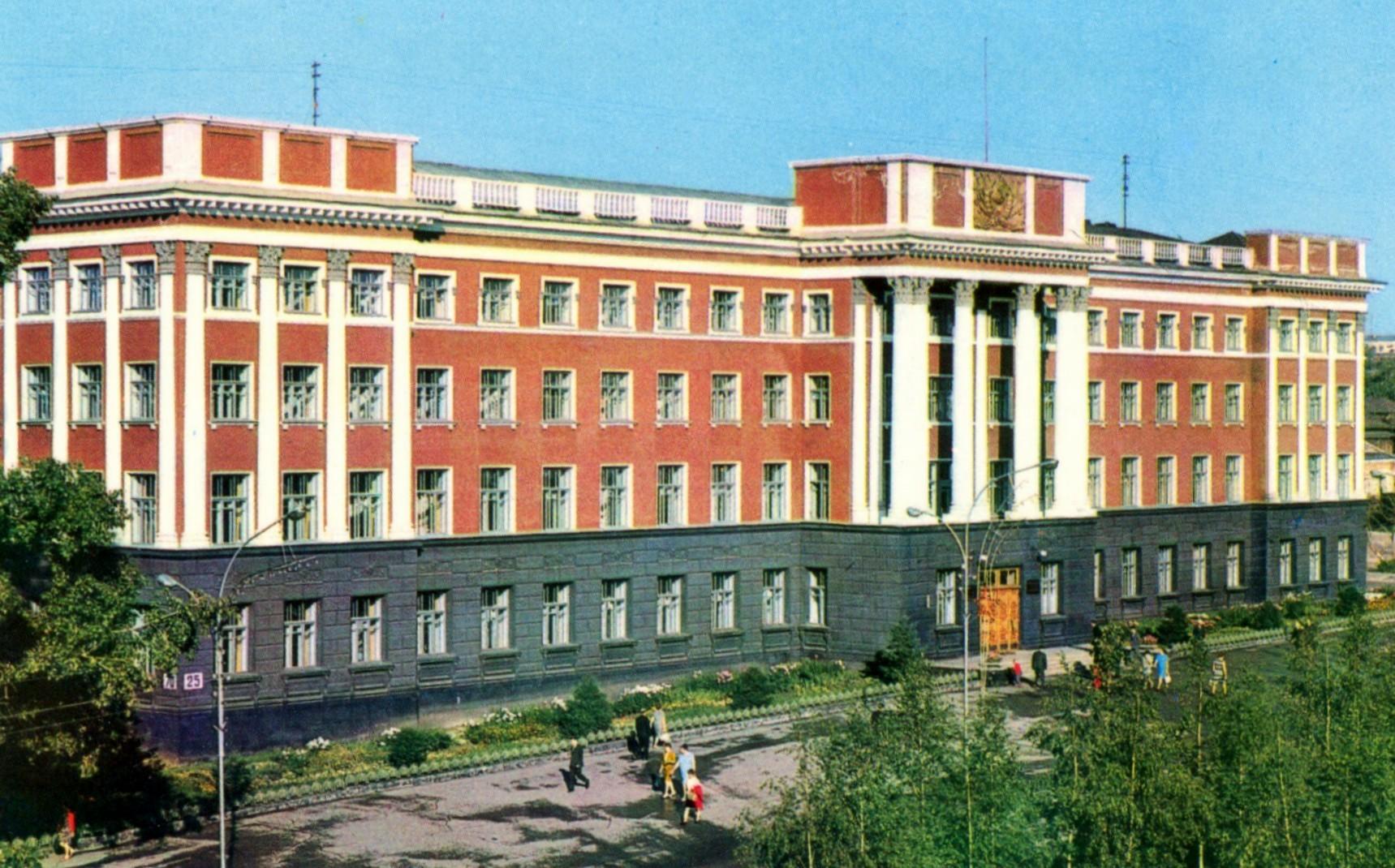 ZAVODFOTO / История городов России в фотографиях: Барнаул в 1971 году