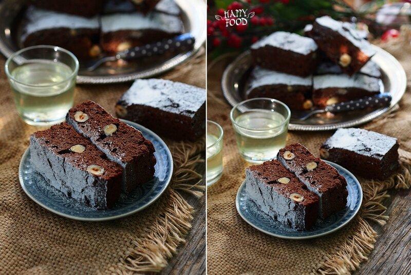 Шоколадный кекс с фундуком на рисовой муке