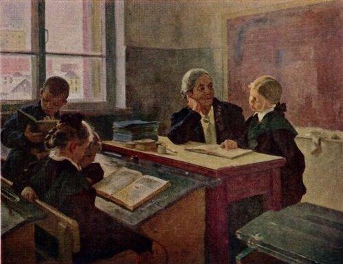 Дмитрий Пускин Дополнительные занятия в школе