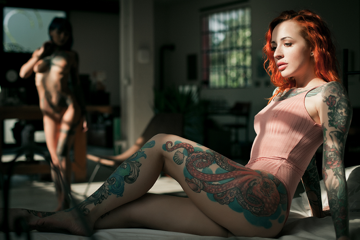 Fishball Suicide & Yana Sinner / фото Stefano Girardi