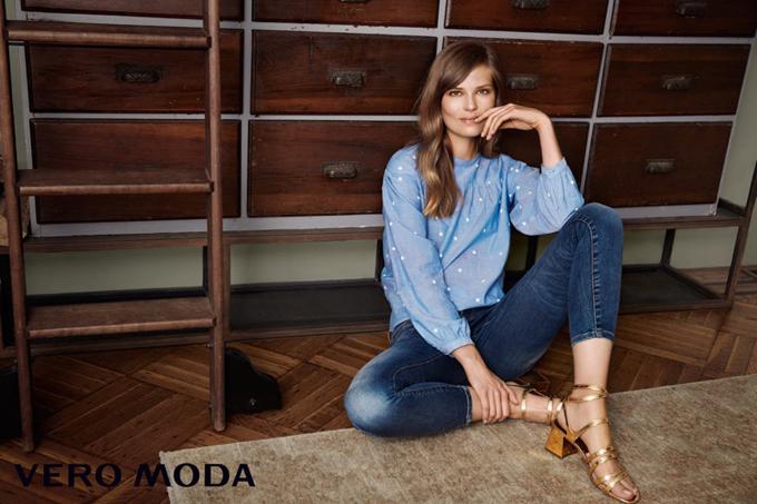 Рекламная кампания Vero Moda