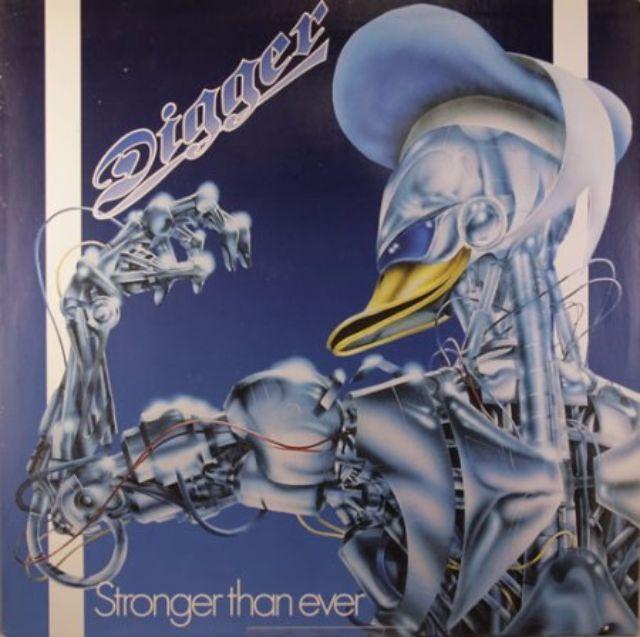 Альбом Stronger Than Ever группы Digger.