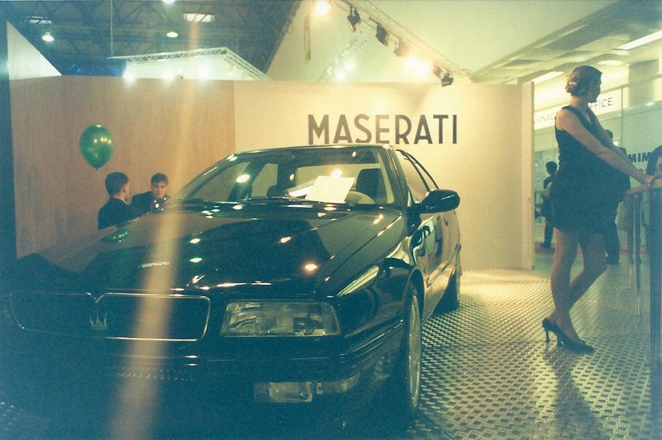 Как и на этом! Белый салон Maserati — шик. Интересно, где сейчас эта машина и в каком состояни