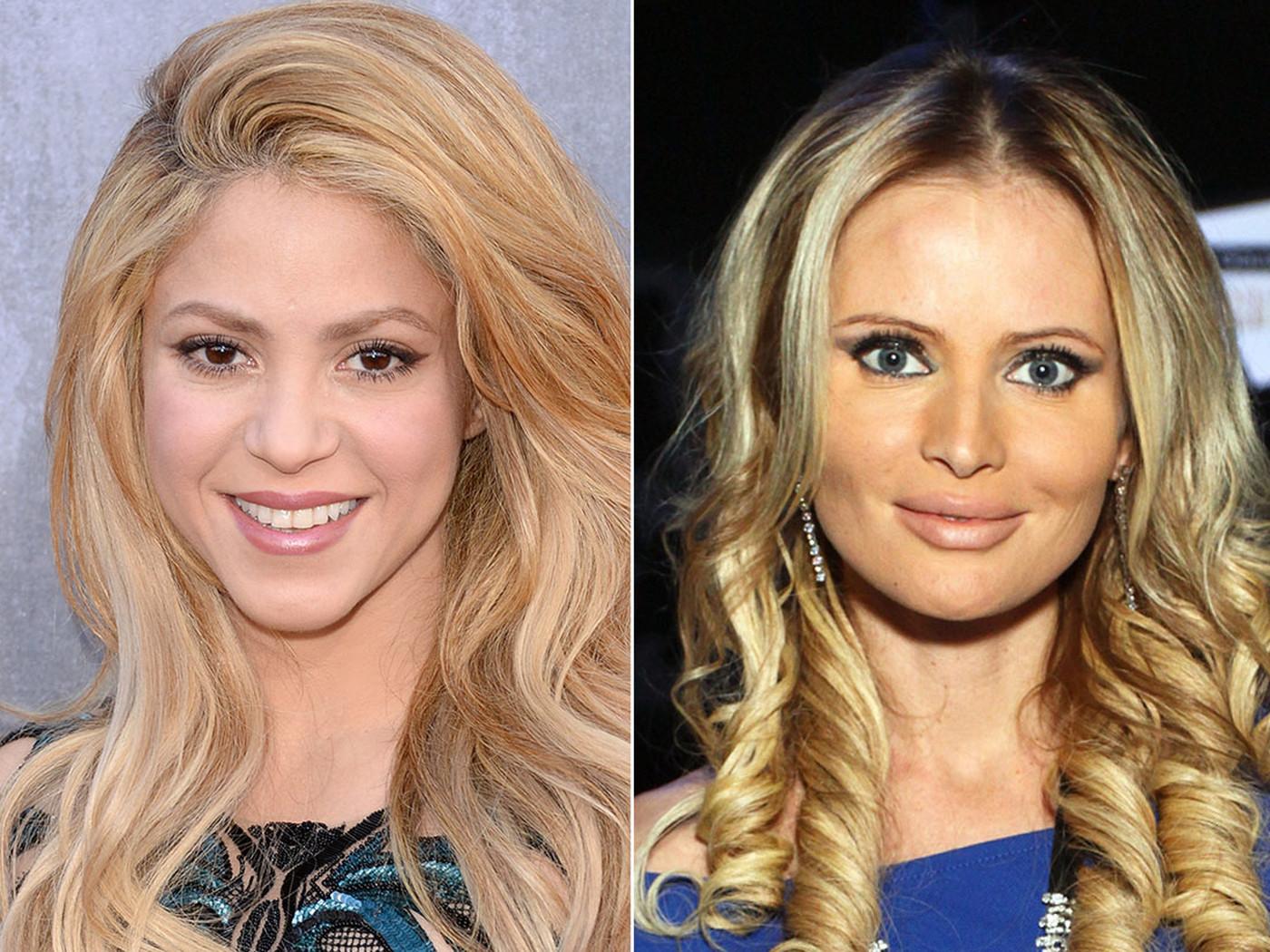 Шакира и Дана Борисова, 1977 года рождения (40 лет) Нам остается только догадываться, как Шакире уда