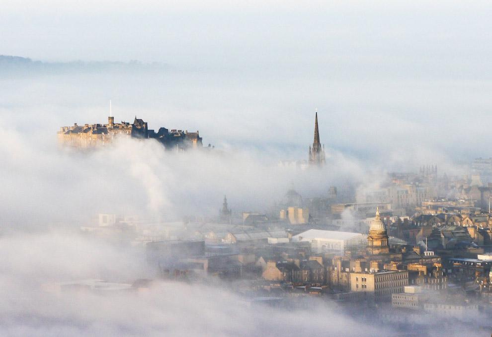 14. Красивейший туман в Чехии. (Фото Martin Rak):