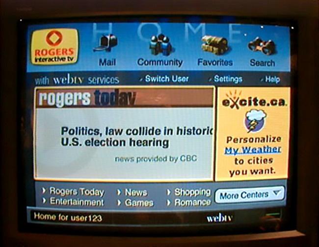 © net4tv.com  Всередине девяностых компания предлагала пользователям выход винтернет через Т