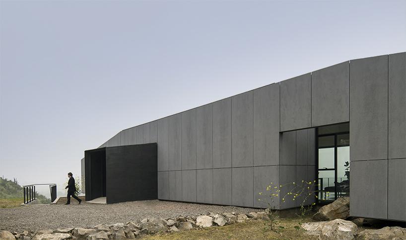 Дом на склоне холма в Чили