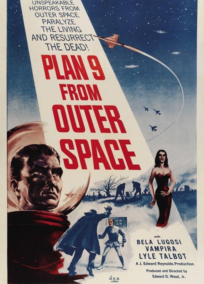 В 1959 году Вуд был занят на съемках самой известной своей картины «План 9 из открытого космоса» (ре