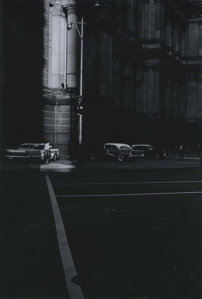Филадельфия, 1963 год. В 1967 году работы Мецкера были выставлены в Нью-Йоркском музее современн