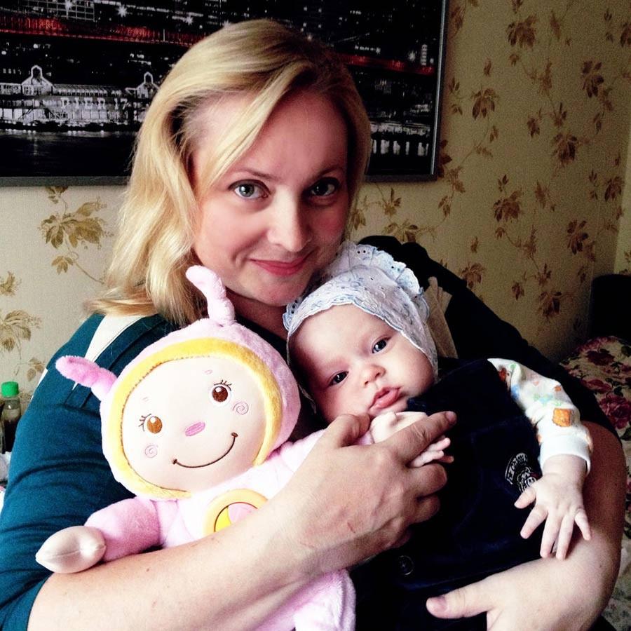 Светлана Пермякова намекает навозможность родить 2-го ребенка