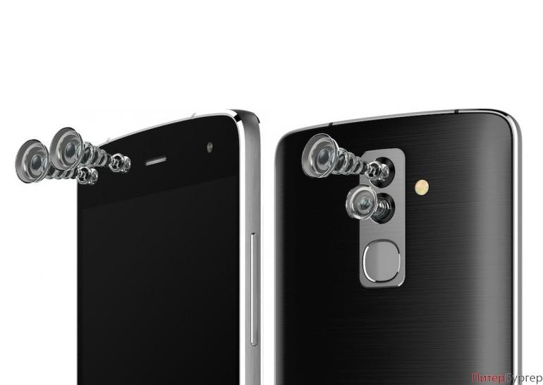 В «Поднебесной» представили новый смартфон счетырьмя камерами