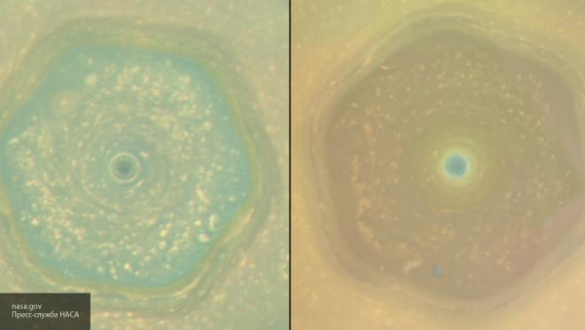 Зонд «Кассини» получил фотографии Сатурна вдень солнцестояния