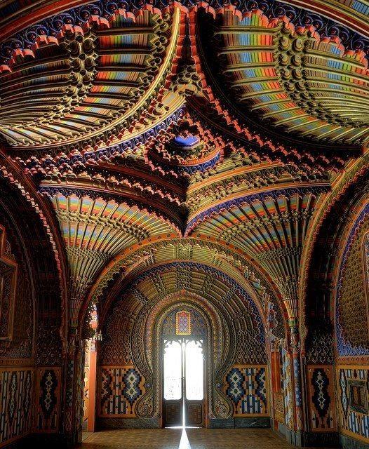 Castello di Sammezzano in Raggello - Тоскана