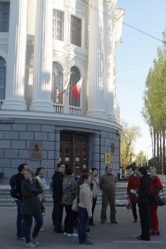 От площади Привокзальной к площади Митрофаньевской, Саратов, 05 мая 2017 года